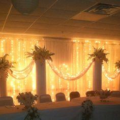 50th wedding anniversary decor by Facebook.com/designsbydazey