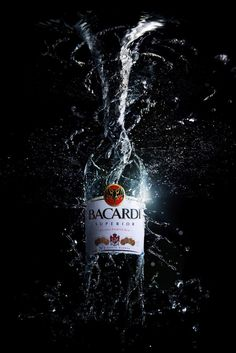 bacardi by stuart elkins, via Behance