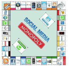 ¿Has jugado ya al Monopoly de las Redes Sociales? #socialmedia