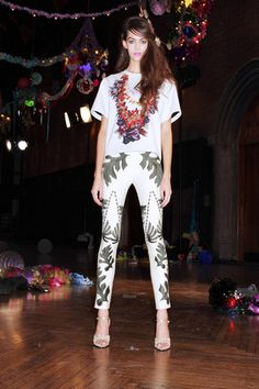 Cynthia Rowley Spring 2014 Ready-to-Wear Collection Slideshow on Style.com - Those pants!