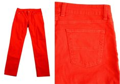 RM Williams Red Jeans Denim Australia Horse riding cowgirl Country 30w 40H 42L Riding Cowgirl, Horse Riding, Red Jeans, Denim Jeans, Rm Williams, Bermuda Shorts, Leather Pants, Australia, Country
