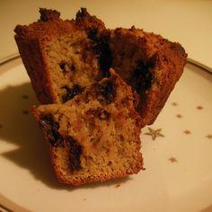 Opskrift på helt fantastiske muffins, med 228 kalorier pr. 100g