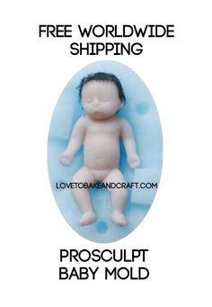 PROSCULPT BABY PROSCULPT DOLL PROSCULPT MOLD PROSCULPT BABY MOULD PROSCULPT BABY DOLL BABY MOLD BABY MOULD SILICONE BABY MOLD POLYMER BABY POLYMER