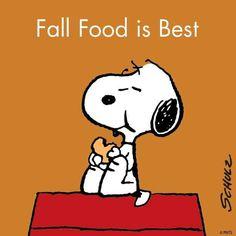 Fall food is best