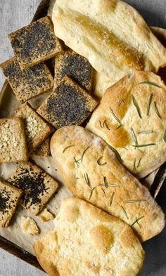 Artisan Crackers, two ways.