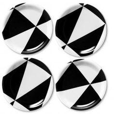 Glasunderlägg Plattan 4-pack - Formverket - Call It Design