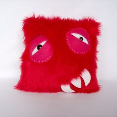 Pillow Monster by bearmojo on Etsy