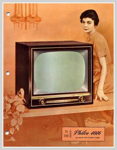 1958 philco tv by mcudeque on Flickr.