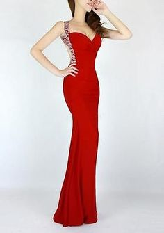 Sexy Women Sequins VNeck Backless Mermaid Prom Cocktail Evening Gown Long Dress