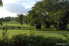 Jamaica has many golf courses, so great for wedding parties wanting a round or 2.