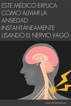 Éste médico explica cómo aliviar la #ansiedad instantáneamente usando el nervio vago #salud
