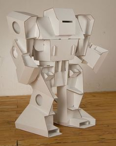 cardboard robot design cool modabots build it yourself paper robots of cardboard robot design