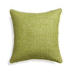 """Lanzo Green 18"""" Pillow  