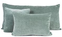 8 coloris disponibles - Harmony - Housse de coussin en velours Delhi - 55x110 cm - Home Beddings and Curtains