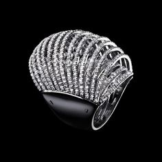 Massimiliano Bonoli - Jewelry Design #pave #jewel #diamonds