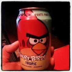 Bebida dos Angry Birds vende mais do que Coca-Cola