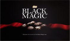 Nestle Black Magic  564g (19.9oz) $15.99 Black Magic Chocolates, Magic Box, Chocolate Box, Christmas Treats, Nostalgia, Image, Dark, Christmas Snacks
