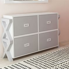 Campaign Stacking Dresser in Choice of Finish from PoshTots