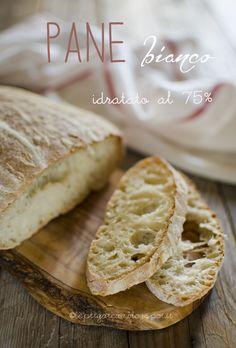 Pane bianco idratato al 75%