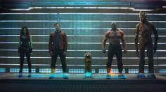 Conheça os Guardiões da Galáxia