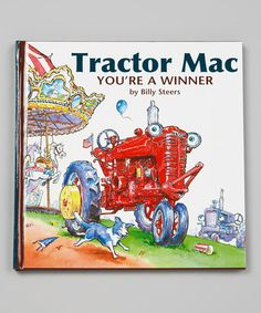 Take a look at this Tractor Mac You're A Winner Hardcover on zulily today!