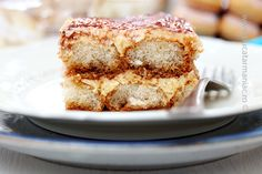 Homemade tiramisu. Video recipe on blog.