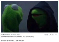 evil kermit meme dark side funny memes 20 Evil Kermit meme seeks to seduce us all to the dark side (23 Photos)