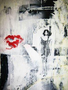 #ToileduMardi #Art /  Oeuvre de Patrick LARA technique mixte