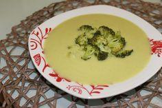 Petiscos cá de casa: Sopa de brócolos
