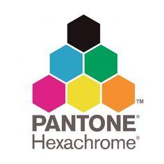 Pantone Hexachrome Representando más de un 90% de los colores planos y se emplea en impresiones de alta calidad.