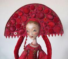 Anna Zueva, Cranberry Juice art doll