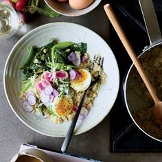 Quinoa Egg Bowl 