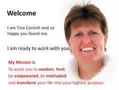 About Tina Cornish – Author Healer Coach