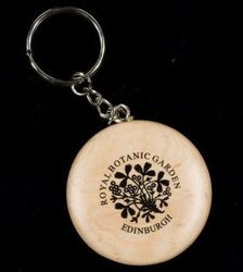 k Wooden Keychain, Royal Garden, Personalized Items