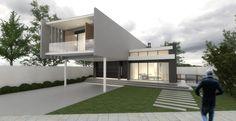 Térreo Arquitetos - CASA UNIFAMILIAR L15 Mansions, House Styles, Home Decor, Architects, Houses, Luxury Houses, Interior Design, Home Interior Design, Palaces