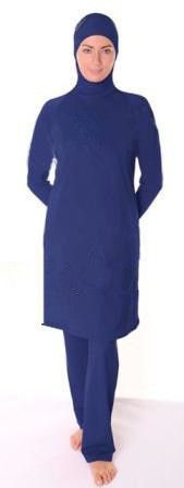 Traditional Arabic Islamic Muslim Casual Bathing Suit S-4XL