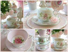 Delicate Pink Tea cups