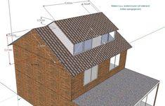 Afbeeldingsresultaat voor dakkapel vanuit de nok