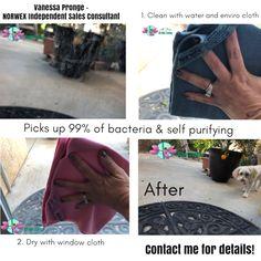 microfiber enviro cloth & window cloth