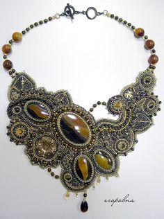 Beautiful jewelry by Dina Egorowna