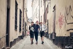 BTS NOW2 in Europe & America photoshoot