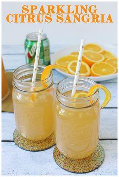 sparkling citrus sangria