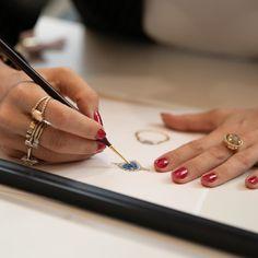 Diamond & gemstone bespoke engagement rings and jewellery, NZ Auckland