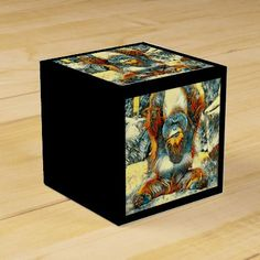 AnimalArt_OrangUtan_20170604_by_JAMColors Favor Box  $2.65  by JAMColors  - cyo diy customize personalize unique