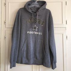 Vanderbilt Football Hooded Sweatshirt Unisex Vanderbilt football hooded sweatshirt. Great condition. Tops Sweatshirts & Hoodies