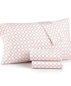 Charter Club Damask Designs 500 Thread Count Printed Wrinkle-Resistant Queen Sheet Set, Only at Macy's - Sheets - Bed & Bath - Macy's