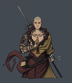 ArtStation - Dnd Party- commission work, Lodovico Sartirana Fantasy Character Design, Character Concept, Character Inspiration, Character Art, Character Ideas, Epic Characters, Fantasy Characters, The Elder Scrolls, Fantasy Pictures