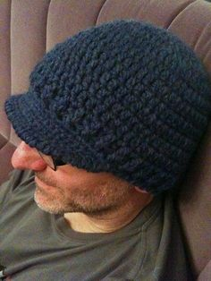 After trying out a few brimmed hat patterns, I knew there had to be a better way. I am sharing that better way with you! Using Wool-Ease Thick & Quick yarn with an accent color, you should be able to whip this hat up in no time, regardless of your skill level. The most difficult stitch is a reverse single crochet to finish the edge, a tutorial of which is shown here http://www.dummies.com/how-to/content/how-to-crochet-a-re...