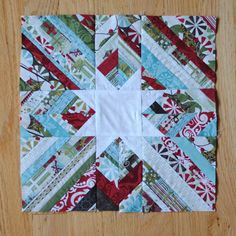 Clover and Violet: 12 Days of Christmas Sampler Quilt Along-or make with other fabrics