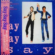 1983.12.01 (12インチsingle) 01.セイ・セイ・セイ Say Say Say ロングバージョン (with マイケル・ジャクソン)  02.セイ・セイ・セイ (インストゥルメンタル) - Say Say Say (instrumental)  03.コアラへの詩 - Ode to a Koala Bear    ◆ポール・マッカートニー : 懐かしいアナログ盤♪